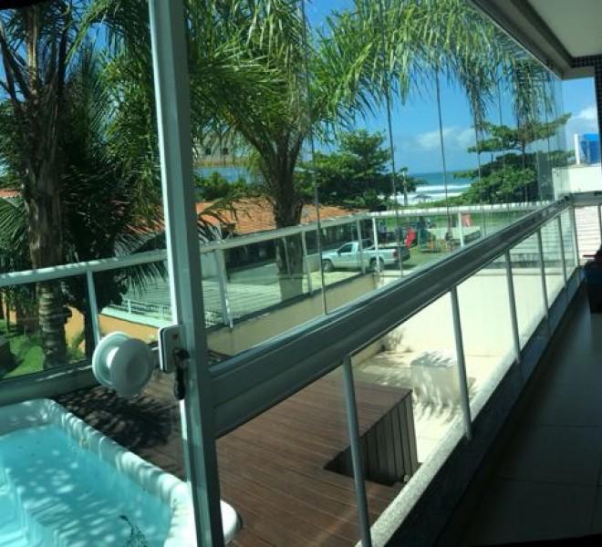 Apartamento com SPA frente ao mar de Mariscal